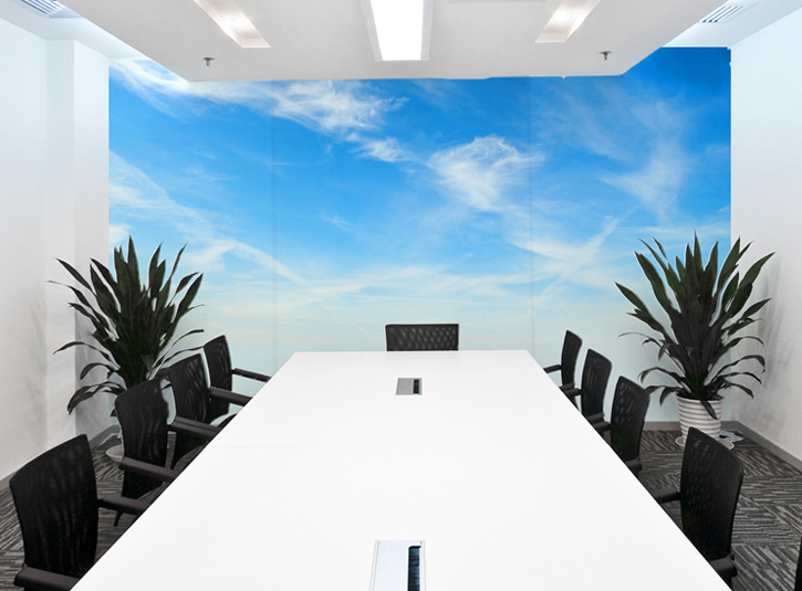 Office Wall Murals Office Removable Wallpaper Limitless Walls